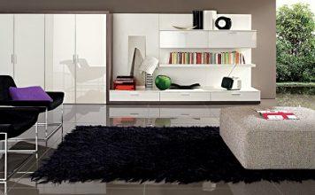 Incroyable un gymnase r nov en loft moderne moderne house - Le nastro sofa par pierantonio bonacina ...