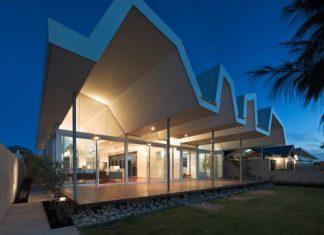 Id es de meubles pour salles de bains moderne house - Maison south perth matthews mcdonald architects ...
