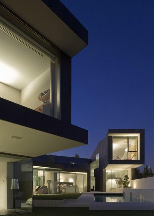 Espagne la maison c par le rta office moderne house - La demeure moderne gb house par mmeb architects ...