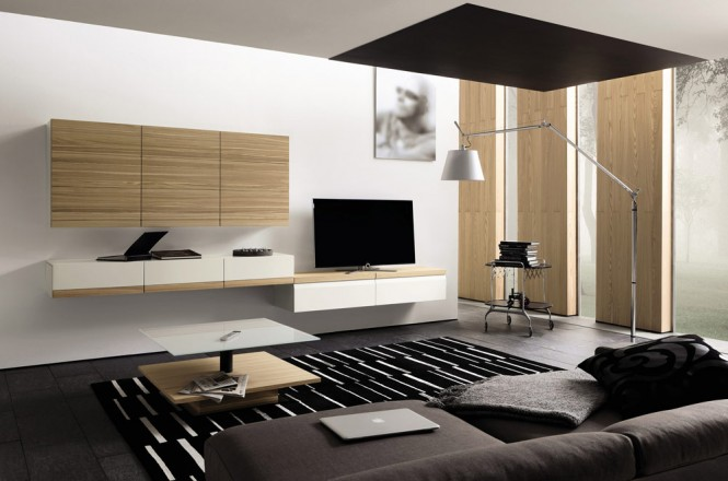 comment transformer son salon en salon moderne. Black Bedroom Furniture Sets. Home Design Ideas