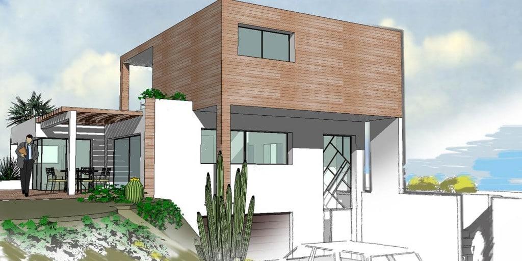 Tout savoir sur le plan d 39 une maison moderne moderne house for Plan maison contemporaine bbc