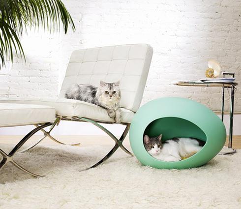 une niche ou un panier design pour votre animal de compagnie. Black Bedroom Furniture Sets. Home Design Ideas