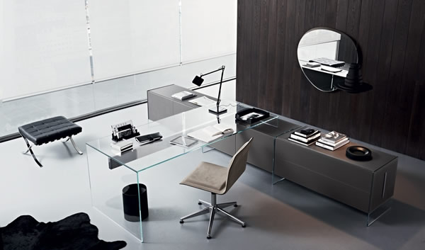 le bureau moderne de pinuccio borgonovo moderne house. Black Bedroom Furniture Sets. Home Design Ideas