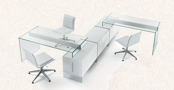 Le bureau moderne de pinuccio borgonovo for Mobilier bureau moderne
