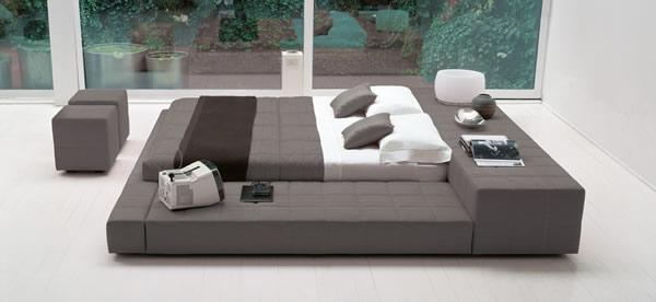 Le squaring bed par bonaldo moderne house 1001 photos for Letti moderni design