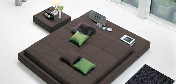 Le squaring bed par bonaldo moderne house 1001 photos - Ne jetez plus vos clic clacs changez leurs housses ...