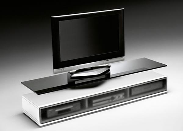 Meuble Tv Tres Moderne : Simple Et Efficace, Ce Meuble Sera Le Complément Idéal Pour Votre