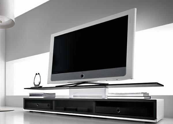 Le meuble tv unit par fiam moderne house 1001 photos for Meuble tele moderne