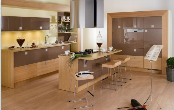Chambre Pour Bebe Garcon : 23 cuisines modernes et françaises de chez Perene