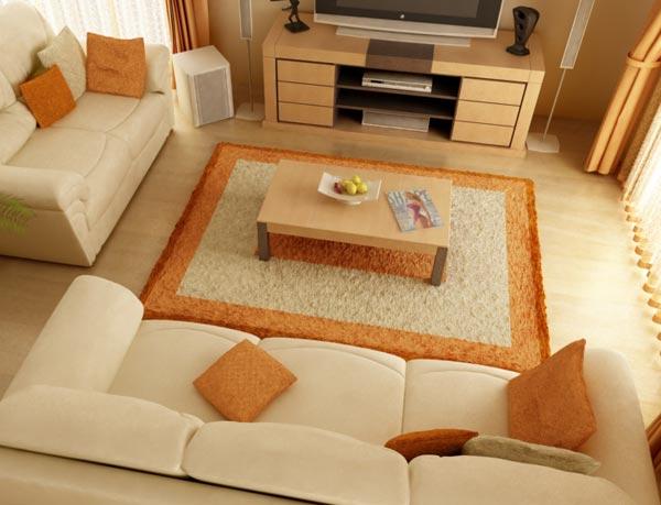 comment placer ses meubles dans son salon. Black Bedroom Furniture Sets. Home Design Ideas
