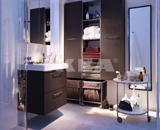 les salles de bains ikea de 2013 moderne house 1001 photos inspirations maison et jardin. Black Bedroom Furniture Sets. Home Design Ideas