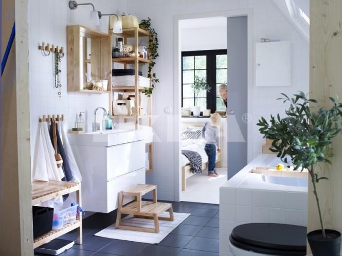les salles de bains ikea de 2013 moderne house 1001 photos inspirations maison et jardin. Black Bedroom Furniture Sets. Home Design Ideas