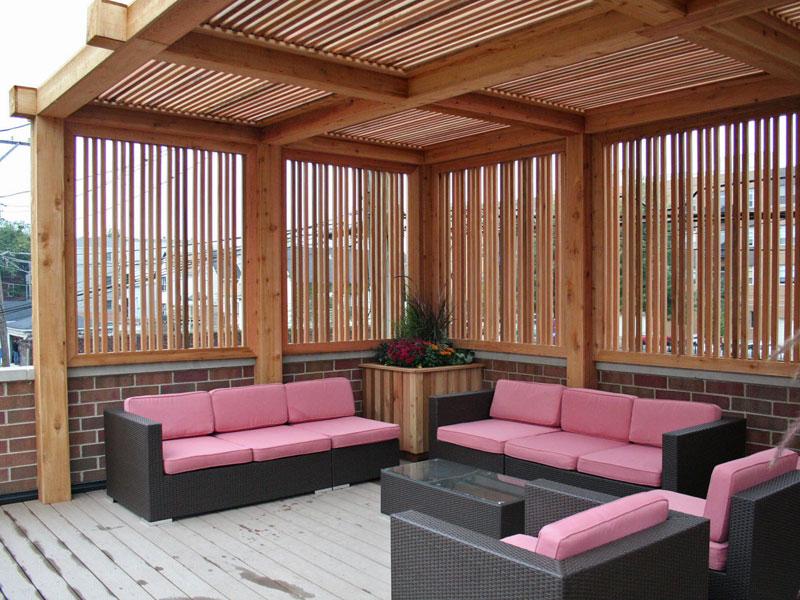 3 id es de salon ext rieur moderne house 1001 photos - Salon exterieur palette ...