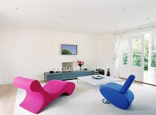 Salon minimaliste 1