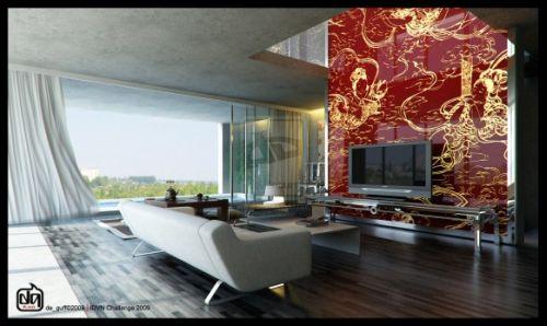 Salon avec télévision 3