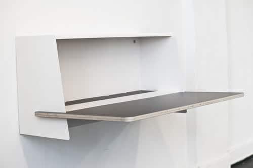 le bureau mural s01 par le studio unieke moderne house. Black Bedroom Furniture Sets. Home Design Ideas