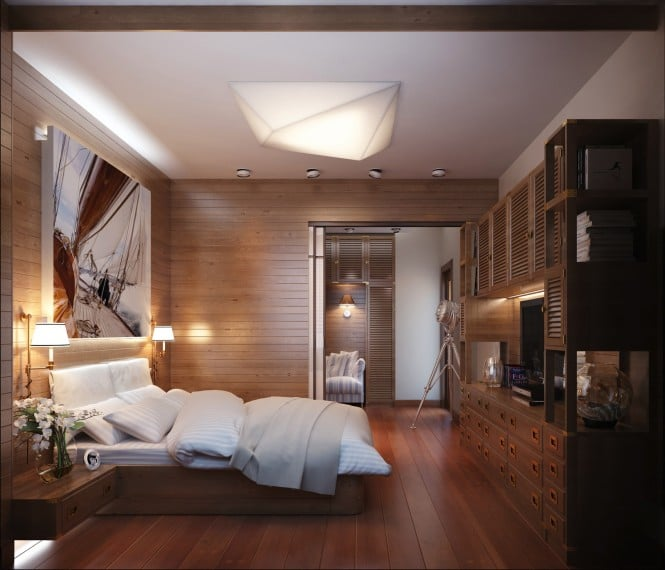 Chambre au décor bateau 2