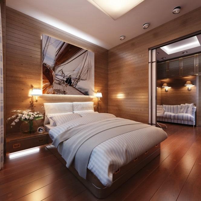 Chambre au décor bateau 3