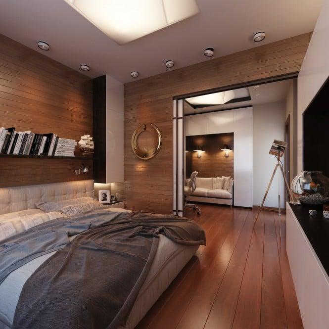 Chambre au décor bateau 6