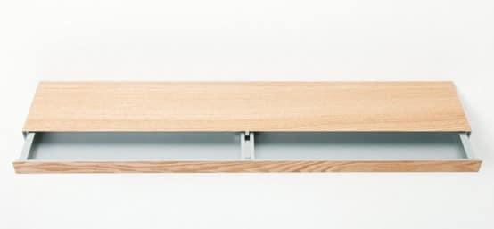 Clopen shelf l 39 tag re qui cache un tiroir moderne - Ne jetez plus vos clic clacs changez leurs housses ...