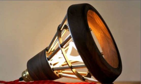 Lampe design industrielle 4