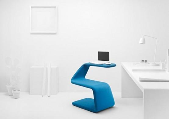 une chaise flexible et design - la chaise sissi - moderne house - Meuble Pc Design