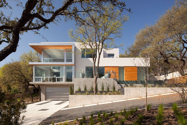 Etats unis une maison contemporaine austin par dick - Architecture contemporaine residence parks ...