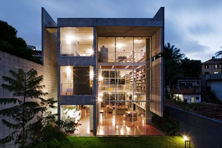 La Maison en Béton Querosene au Bresil