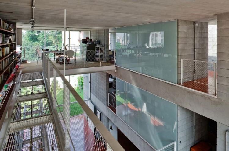 La Maison en Béton Querosene au Bresil 4