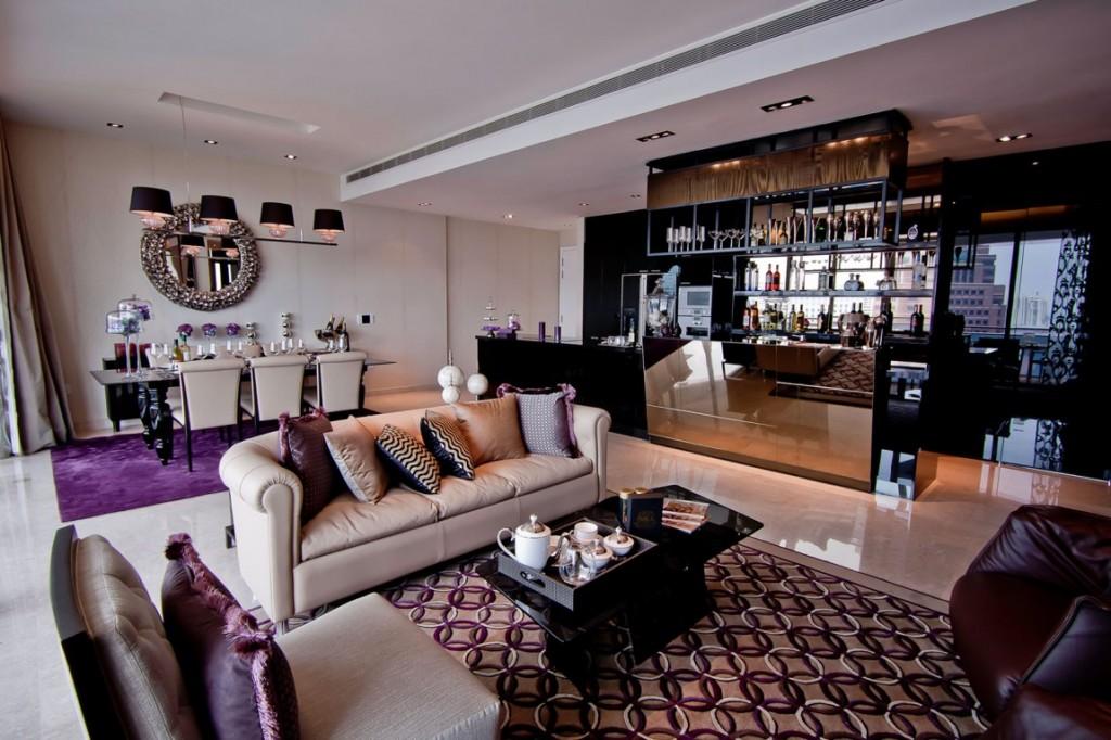 Singapour l 39 appartement grange infinite showflat - Maison twin megaphones par latelier tekuto ...