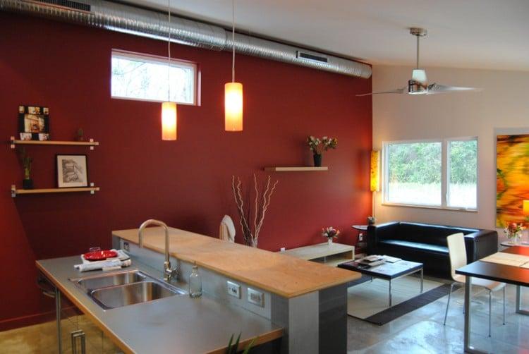 Etats unis une maison moderne moins de 100 000 moderne house 1001 pho - Petite maison moderne ...