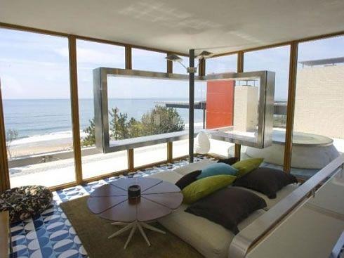 Etats unis la maison oceanfront estate montauk - La maison ah au bresil par le studio guilherme torres ...