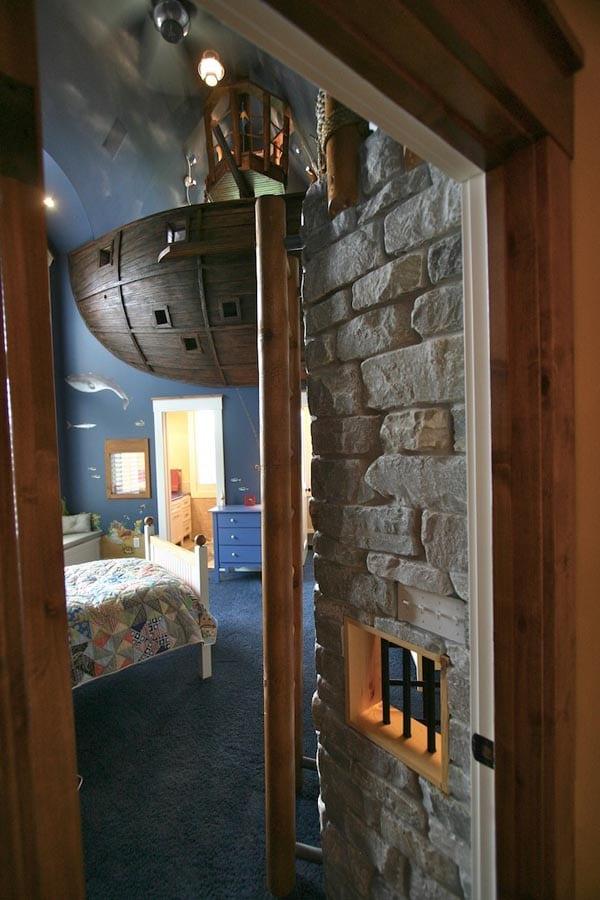 La chambre pirate pour les grands enfants moderne house - Idees chambre designmodeles surprenants envoutants ...