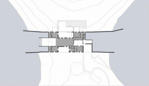 Gr ce la maison camoufl e par deca architecture - Limposante residence contemporaine de ehrlich architects ...