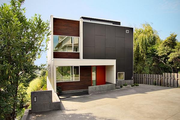 Maison moderne fantaisiste 1