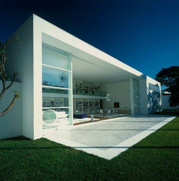 brsil la maison gama issa par marcio kogan - Maison Moderne Blanche