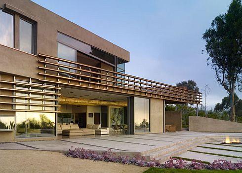 Etats unis la r sidence point dume malibu - Residence choy terry terry architecture ...