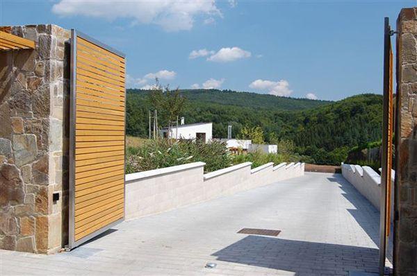 Entrée d'une Résidence de luxe en République Tchéque