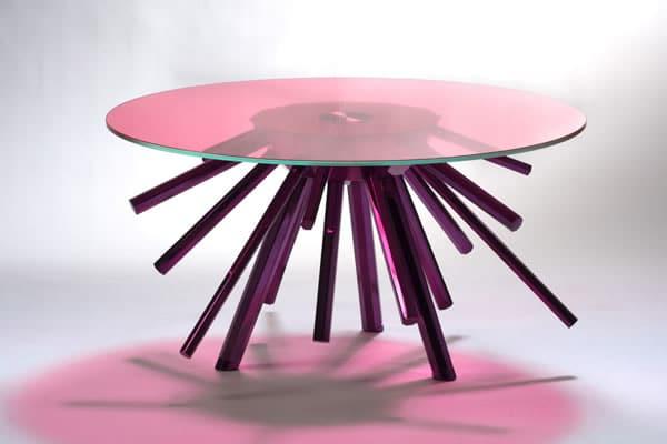 La table sunburst par versace home moderne house 1001 - Ne jetez plus vos clic clacs changez leurs housses ...