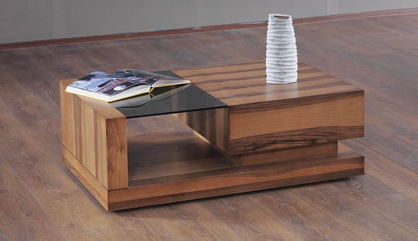 Table basse bernica en bois