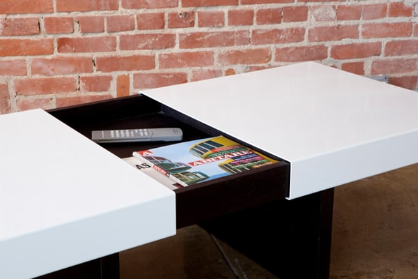 La table basse dark par mashstudios - Maison rogers sturz michael lee architects ...