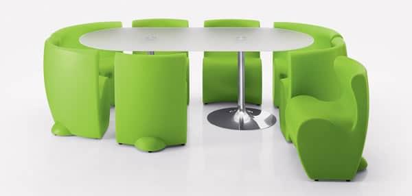 Table et chaises verte de chez myyour