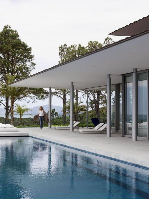 Nouvelle z lande la villa rahimona et ses 30 hectares de - Magnifique residence hunters hill en australie ...