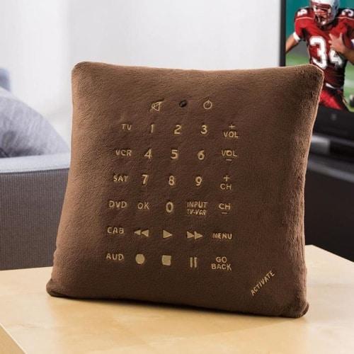 Coussin télécommande design