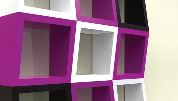 Etagère funky design 3d