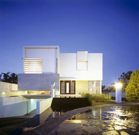 Maison moderne au Mexique 2