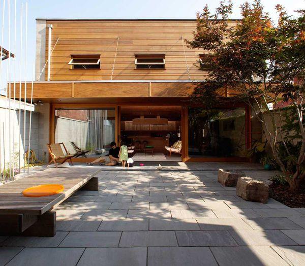 Canada: une maison moderne à Toronto par Studio Junction