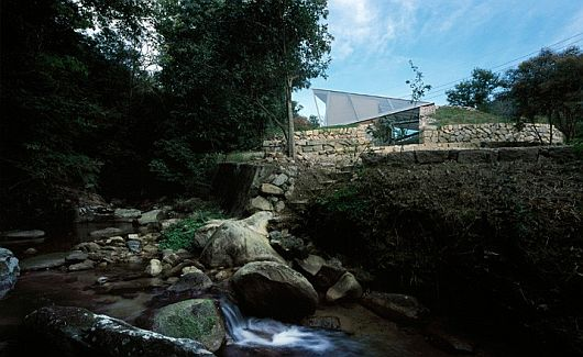 Maison dans la vallée au Japon 3
