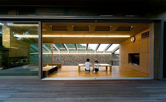 Maison dans la vallée au Japon 6