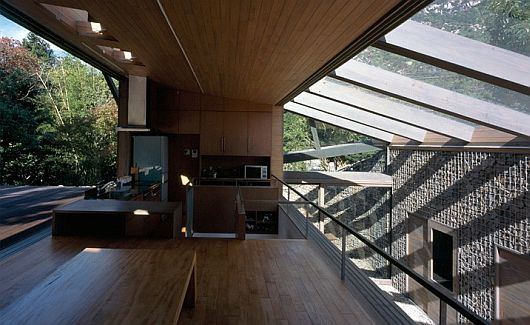 Maison dans la vallée au Japon 7